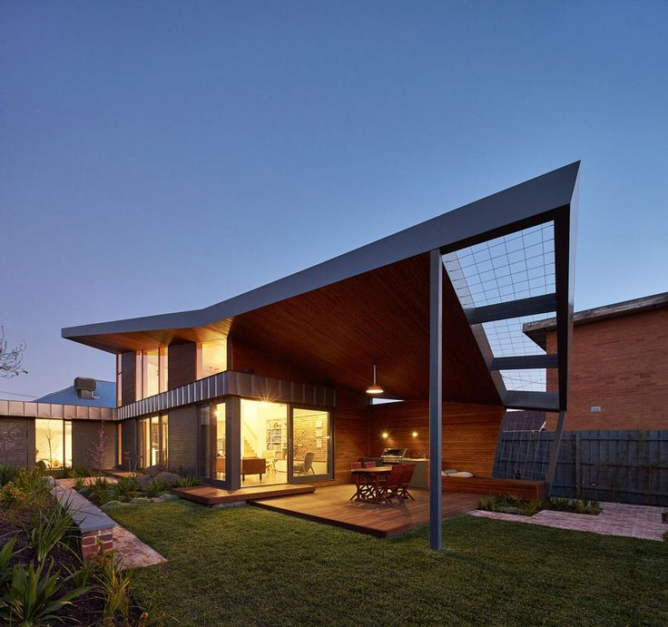 lighting house design. guild architects redesigned the yarraville garden house with passive solar design adaptation caandesign lighting