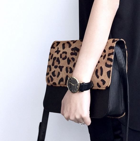 #leopard #leopardprint #bag #leather #crossbodybag #ponyhair #black #luxe #ootd #melbournestyle #melbournedesigner