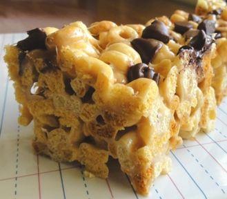 Peanut butter cheerios treats side sm: Peanuts, Cheerios Treats, Food, Butter Cheerios, Cheerios Bar, Cheerio Treats, Peanut Butter, Treats Side