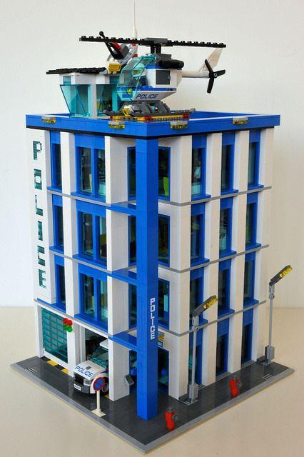 LEGO 60047 Police Station Modular MOD | Flickr - Photo Sharing!