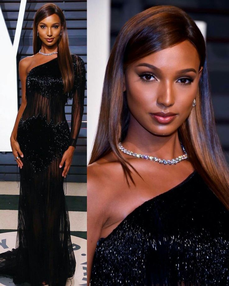 Jasmine Tookes stuns at the 2017 Vanity Fair Oscar Party. #glamorous #bestdressed #oscars #academyawards #oscarawards #celebrity #celebritystyle #fabfashionfix #victoriassecret #jasminetookes
