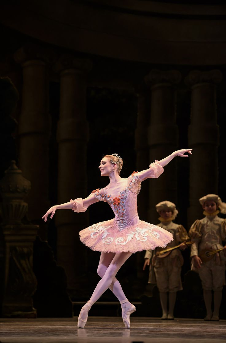 Sarah Lamb as Princess Aurora in The Sleeping Beauty, The Royal Ballet 16/17 Season. Find out more: www.roh.org.uk/productions/woolf-works-by-wayne-mcgregor