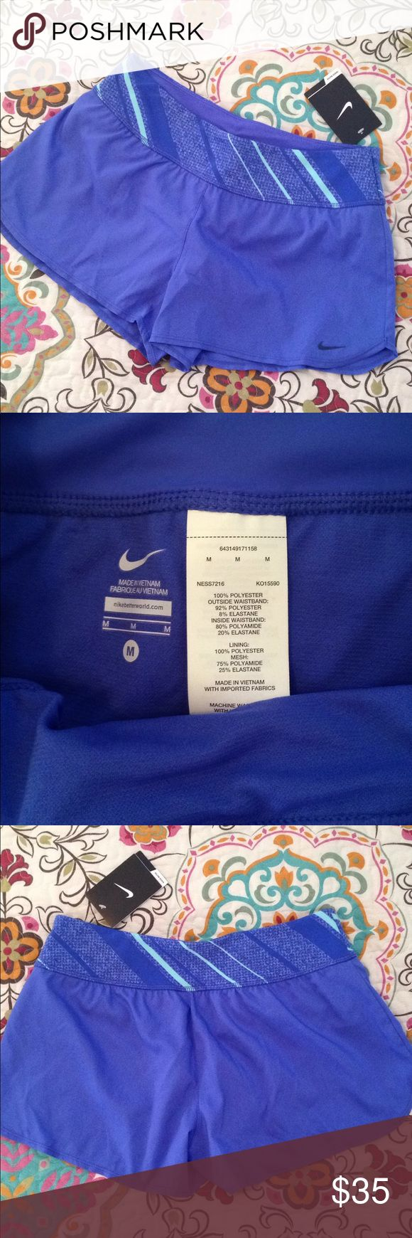 Nike Swim Shorts Treated with Hydra Void to shed water and help keep you dry. Perfect for swimming or indoor/outdoor activities. The hygiene liner is still attached. New with tags! Nike Swim