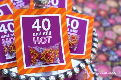 40th birthday party ideas | party
