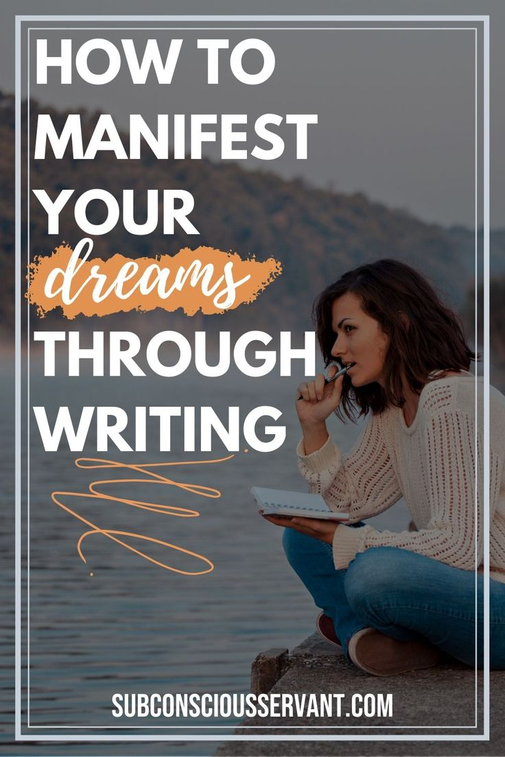 Why Writing Things Down to Manifest Works in 2020   Law of