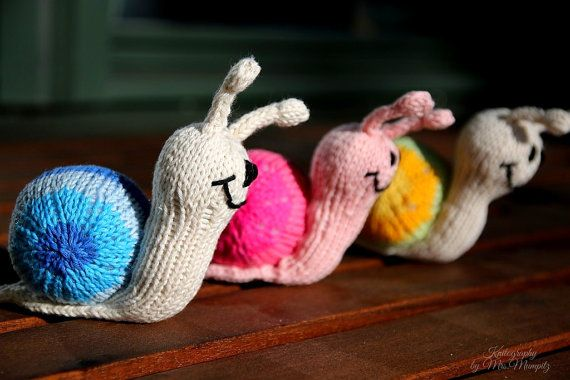 Knitting Pattern For Toy Snail : Smilla the snail knitting pattern for beginners by ...