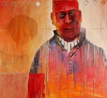 Mel McCuddin The Visionary, 2011 oil on canvas 44 x 48 inches