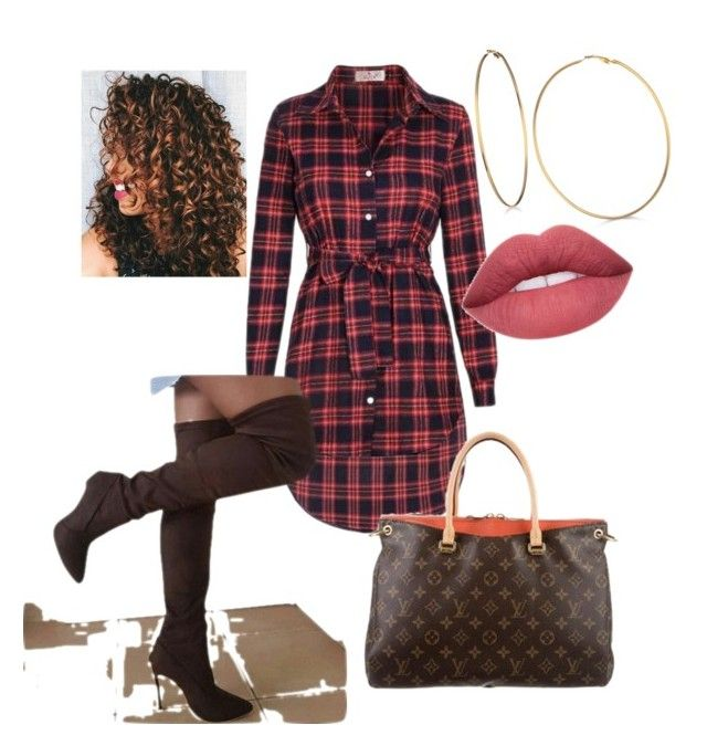 """Casual Plaid"" by essish on Polyvore featuring GUESS"