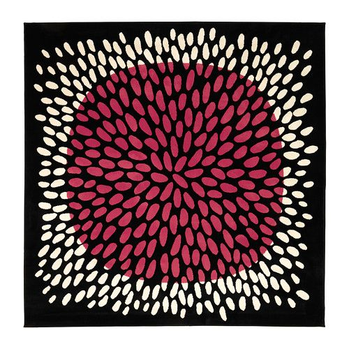 TRÅDKLÖVER Rug, low pile IKEA Its dense, thick pile creates a soft surface for your feet and also dampens sound.