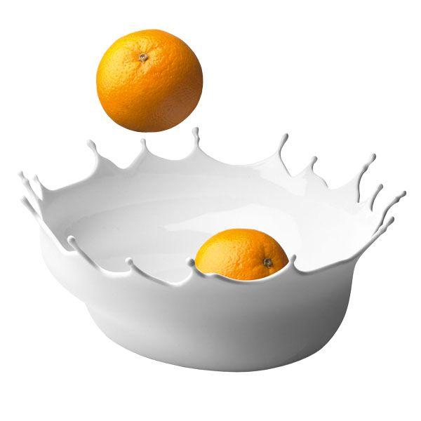 Dropp! bowl, snow white | Finnish Design Shop