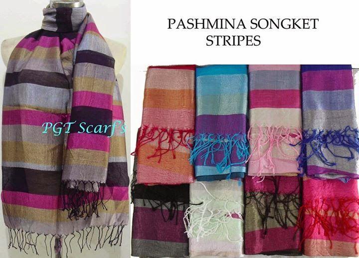PASHMINA SONGKET MOTIF | GROSIR ECER BORONG PASHMINA|Shawl Scarf Pashmina Kerudung Jilbab Tudung Polos Motif Murah