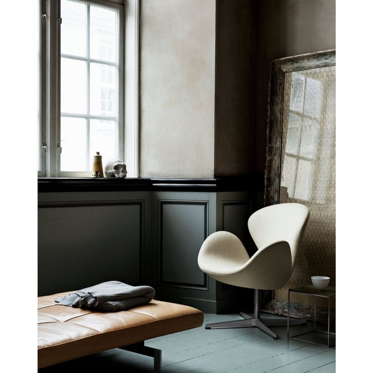 A clássica poltrona Swan ícone do Design.