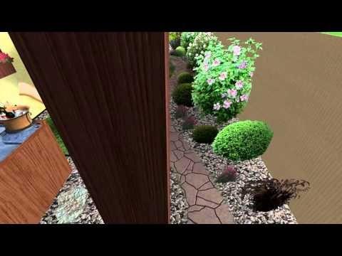 Návrh malé zahrady ve Strážnici