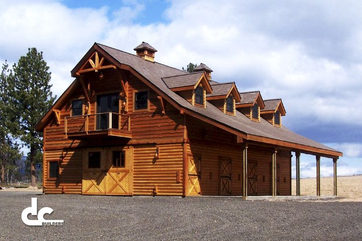 17 best images about building ideas on pinterest barn for Custom garages with living quarters