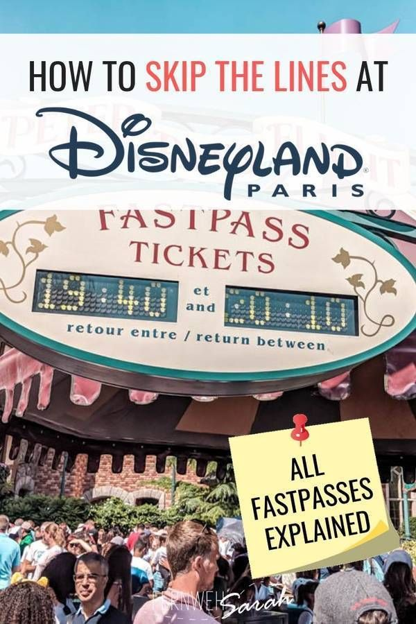Disneyland Paris Fastpasses [08/2019] – how to best skip the queues!