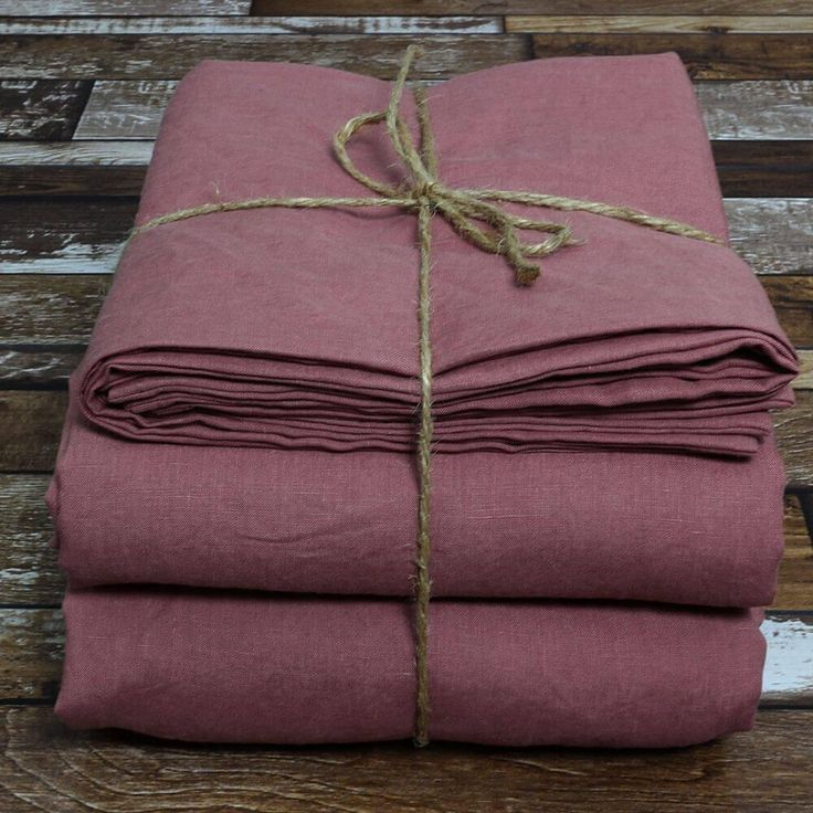 Our Linen Sheets set in Brick hue is made from the best flax from France upon order. Get the most comfortable foundation for your bedding makeover today.