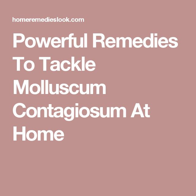 Powerful Remedies To Tackle Molluscum Contagiosum At Home