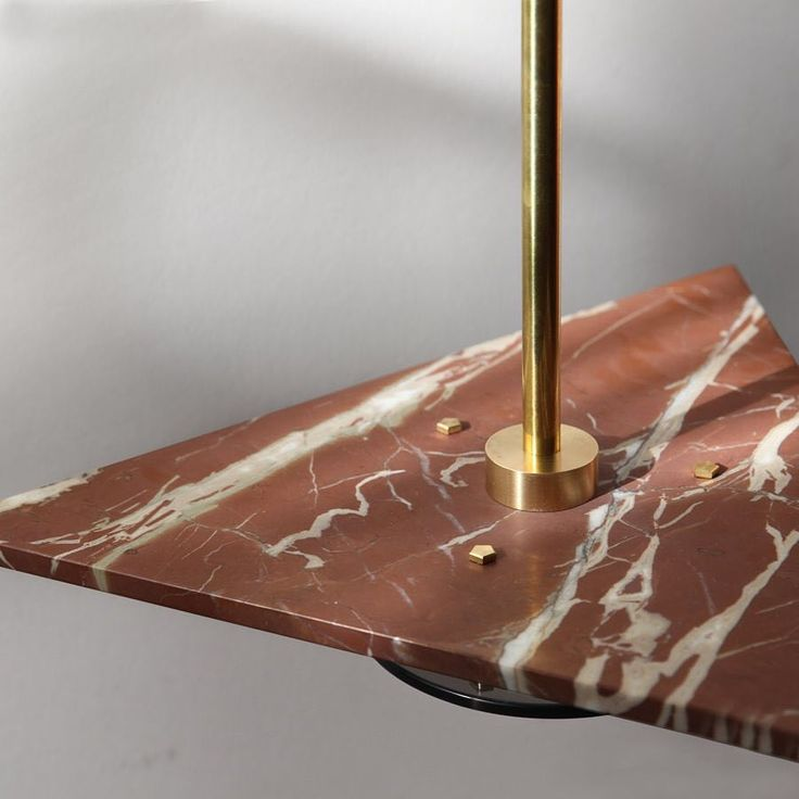 Marz Designs - Bermuda pendant light, in delicious ochre marble