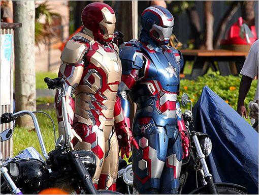 'Iron Man 3' back underway after Robert Downey Jr. injury | Inside Movies | EW.com