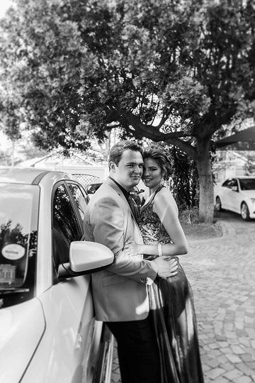 Photo from Belinda Dreyer & Leonard struwig Matric Farewell  collection by L'Afrique photography