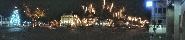 Panoramic View of Laoag at night