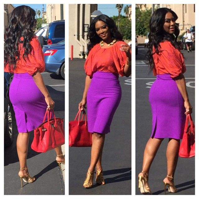 Kenya Moore being perfect.