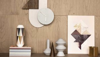 geometric wall clock - Google Search