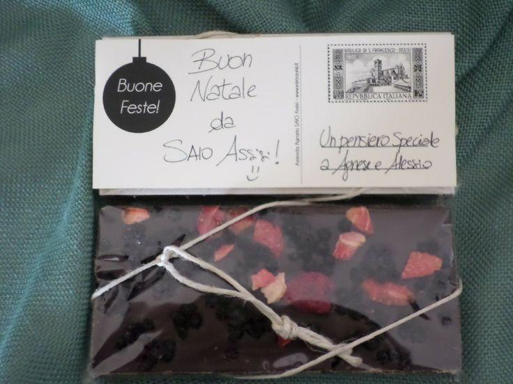 SAIO Chocolate Greetings card