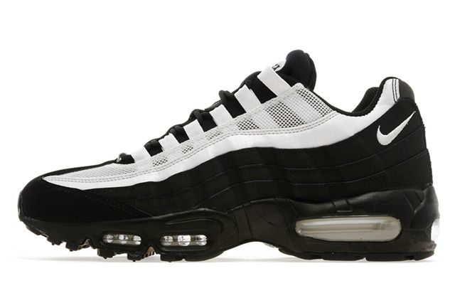 Nike Air Max 95 JD Exclusive (Black/White) - Sneaker Freaker ...