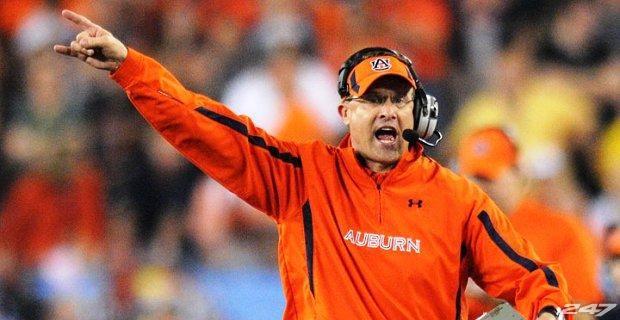 Gus Malzahn is the new Auburn football coach.