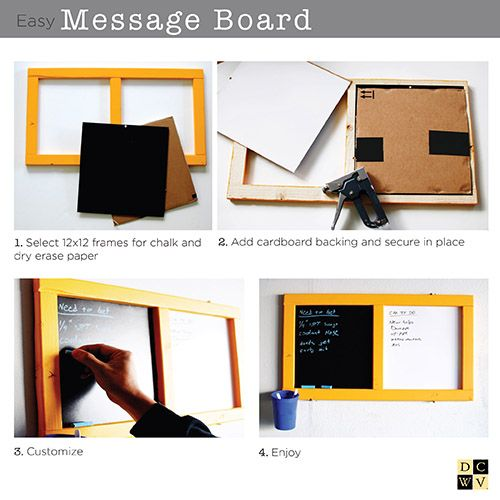 Message board project from @jerivann; head to your local @HobbyLobby to get started!
