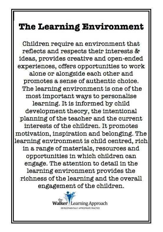 Adapting Learning Environments