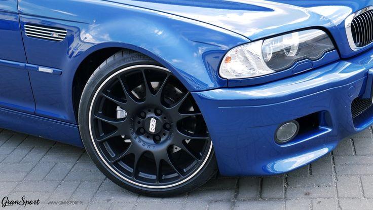 Tym razem do naszego serwisu trafiło perfekcyjnie utrzymane BMW M3 (E46) w wersji Cabriolet. Niebieska Mka to już powoli auto kultowe, stąd zmiany które zaszły miały na celu jedynie delikatnie podkreślić jej charakter. Zdecydowaliśmy się więc na montaż układu wydechowego Remus Polska oraz felg BBS.  Więcej informacji na naszym blogu: http://gransport.pl/blog/realizacja-bmw-m3-cabrio-e46-remusbbs/  GranSport - Luxury Tuning & Concierge http://gransport.pl/index.php/