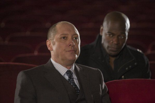 Still of James Spader and Hisham Tawfiq in The Blacklist (2013)