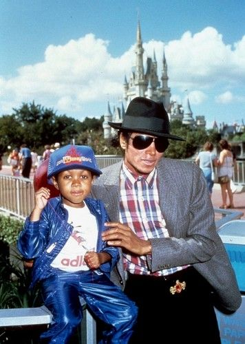 Michael Jackson and Emanuel Lewis | Disney World | 1984