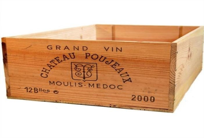 buy old wooden wine crates gardening pinterest