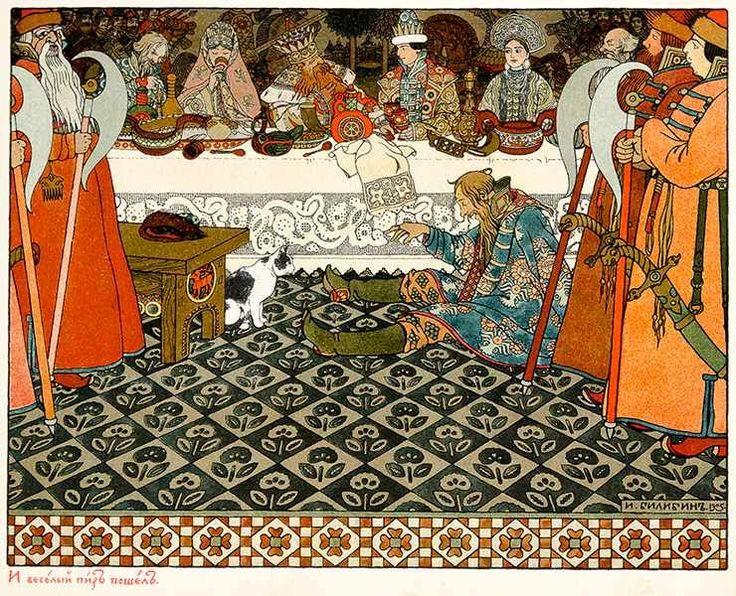 Russische Kinderbücher - - Puschkin, Alexandr S. Skaska o Zare Saltane. (Märchen vom Zaren Saltan)