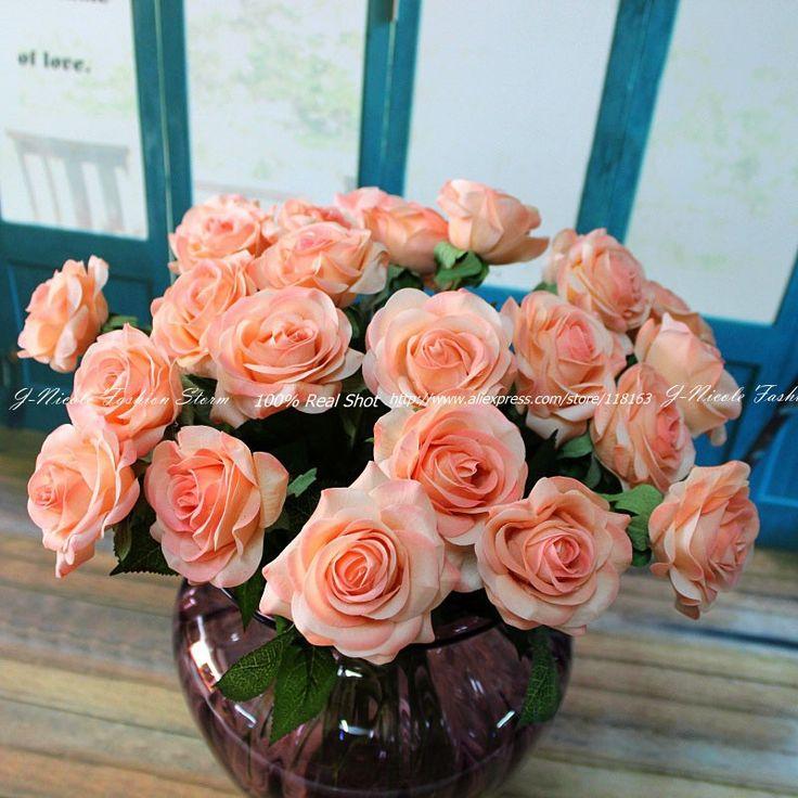 wedding centerpieces fake flowers%0A    cm         pcs    Wedding Flower DecorationsWedding
