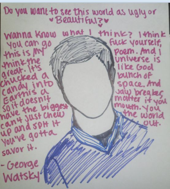 I Drew This Up But George Watsky Gets The Credit For Amazing Spoken Word