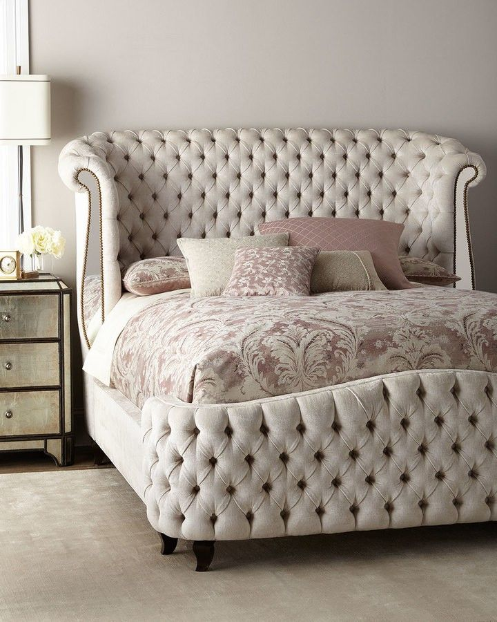 haute house tufted bed home bedroom style roomdesign affiliate rh pinterest com