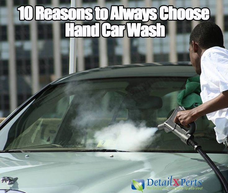 10 Reasons to Always Choose Hand Car Wash