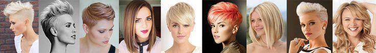 10 peinados medio largo muy hermoso y 10 peinados cortos muy robusto! - Cortes de Pelo Mujer