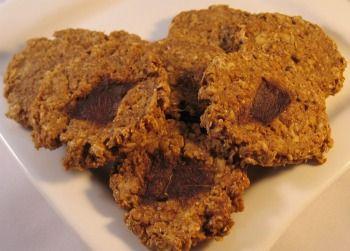 Chewy Dog Cookie Recipe - Peachy Keen Oatmeal Homemade Dog Cookies