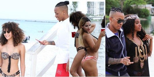 [E!News] Tekno Dares FG Shoots New Music Video In Miami With US Models (photos)