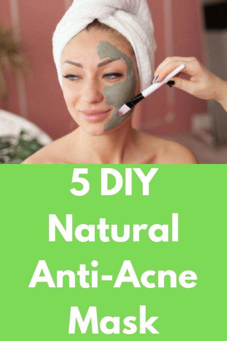 5 DIY Natural Anti-Acne Mask