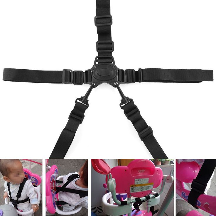 New Arrivla Convenient 5-Point Harness Baby Chair Stroller ...
