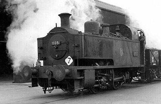BR (GWR)  Collett 1101 class  0-4-0 ST