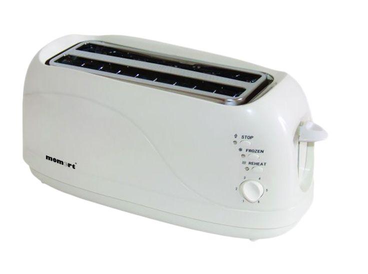 MOMERT 2061 hosszú szeletes kenyérpirító - MOMERT 2061 long slice toaster