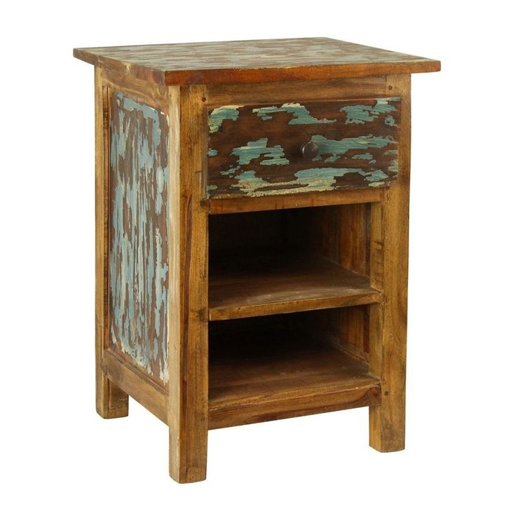 17 best ideas about rustic nightstand on pinterest diy for Rustic nightstands