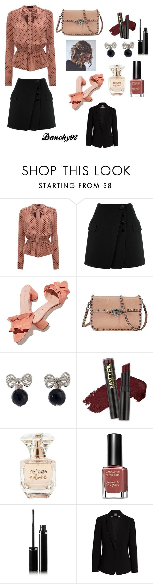 """Blush"" by dragica92 on Polyvore featuring Alexander Wang, Loeffler Randall, Valentino, Misis, L.A. Girl, Refuge, Max Factor, Sisley and Vince Camuto"